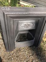 Antique Cast Iron Fireplace Insert (5 of 5)