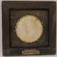 Miniature Portrait of Voltaire 2 of 2 Matching Oak Frames (3 of 3)