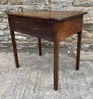 Antique Georgian Pine Lowboy (14 of 18)