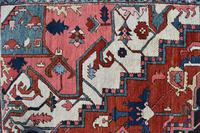 Fine Antique Heriz Room-size Carpet 389x283cm (11 of 11)