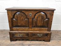 18th Century Style Welsh Oak Coffer (4 of 13)