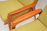 1960's Pair of Vintage Dutch Teak & Oak Armchairs (2 of 11)