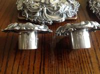 Pair of Ornate Antique Victorian Silver Candlesticks - 1844 / 1845 (6 of 8)