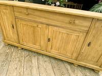 Big! Old 2m Pine Dresser Base Sideboard / Cupboard / TV Stand - We Deliver! (4 of 13)