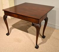 George III Mahogany Foldover Tea Table (8 of 8)