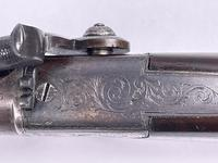 Mid 19th Century Percussion Boxlock Side Hammer Large Pocket Pistol (7 of 7)