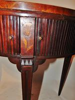 Dutch Mahogany & Marquetry Side Table (11 of 11)