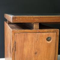 X- Leg Administrative Desk by Pierre Jeanneret c.1960 (4 of 7)
