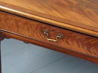 Large Mahogany Side Table by Whytock & Reid (6 of 12)
