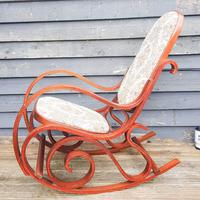 20th Century Bentwood Rocking Chair (2 of 10)