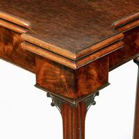 Very Fine Pair of George III Mahogany & Plum Pudding Mahogany Concertina Action Card Tables (13 of 17)