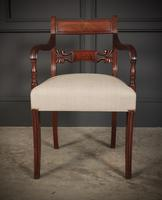 Set of 8 Regency Mahogany Dining Chairs (5 of 20)
