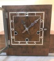 Classic Art Deco Westminster Chiming Mantle Clock by Enfield (2 of 7)