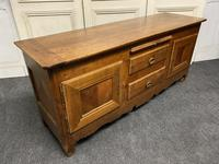 18th Century Low Cherry Wood Enfilade 'TV Stand' (19 of 21)