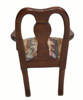 Set of Antique Child Chairs Chippendale Queen Anne (11 of 16)