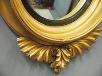 Large Regency Gilt Girandole Mirror (11 of 12)
