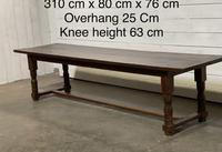 Wonderful Antique Large Refectory Farmhouse Dining Table (28 of 31)
