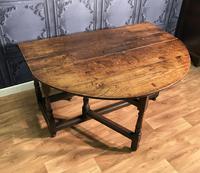 Georgian Oak Drop Leaf Table (5 of 11)