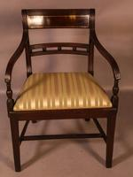Good Set of 8 Regency Period Dining Chairs in Mahogany (10 of 13)
