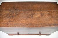 Antique Georgian Oak Mule Chest (6 of 12)