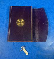 Victorian Leather Dated Pocket Book (9 of 14)