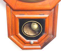Impressive Victorian American Drop Dial Wall Clock 8 Day Movement Seth Thomas (9 of 12)