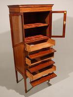 A Good Quality Edwardian Mahogany Music Cabinet (3 of 6)