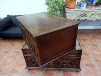 Country oak 4 drawer chest of drawers splits into 2 (8 of 10)