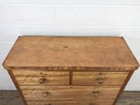 Antique Satinwood Chest of Drawers (4 of 10)