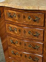 Quality French Marquetry Taller Chest of Drawers (6 of 15)