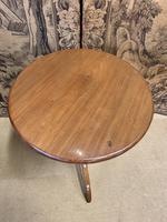 Light Oak Bobbin Turned Occasional Table (4 of 4)