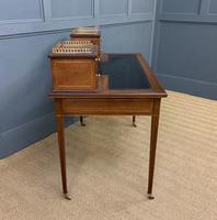 Edwards & Roberts Inlaid Mahogany Writing Desk (13 of 20)
