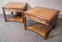 Pair of Burr Walnut End Tables Iain James Fine Furniture (2 of 9)