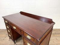 Antique Mahogany Small Desk (8 of 10)