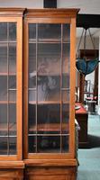 19th Century Victorian Mahogany Breakfront Bookcase (6 of 11)
