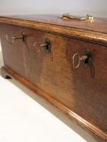 George III Period Oak Security Box (4 of 5)