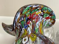 2 Beautiful Italian Murano Fratelli & Torso Millefiori Glass Vases (22 of 34)