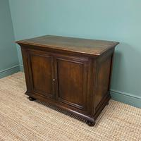 Quality Victorian Solid Oak Antique Cupboard (5 of 7)