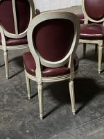 Set of 8 French Dining Chairs Lovely Original Finish (13 of 18)