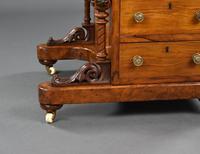 Victorian Burr Walnut Inlaid Davenport Desk (9 of 9)