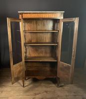 Elegant Napoleon lll Period Rosewood  & Tulipwood Bookcase / Vitrine (13 of 13)