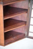 Small Antique Astragal Wall Hanging Cabinet (4 of 11)