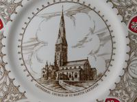 St Martin Leicester Golden Jubilee Plate by Coalport Plate (2 of 3)