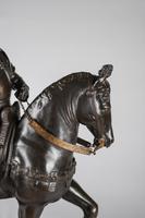 Very Large Stunning 19th Century Equestrian Bronze Sculpture of Bartolomeo Colleoni (12 of 20)