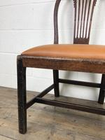 Georgian Chair with Drop-in Leather Seat (6 of 13)