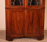 Corner Cabinet in Mahogany - 18th Century Georgian (2 of 13)