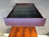 Mahogany Glazed Shop Display Cabinet (5 of 5)
