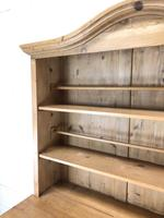 Antique Pine Country Dresser with Shaped (3 of 7)