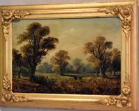Victorian Oil Painting of Charlecote Park (2 of 9)