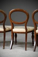 Set 4 Victorian Style Dining Chairs (6 of 11)